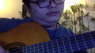 Hà Nội mùa vắng những cơn mưa - solo guitar Mèo Ú