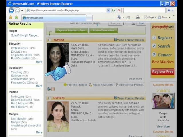 Punjabi girl jeevansathi Rishtey Ads