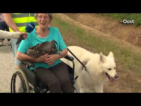 Expeditie Oost: Senioren uit Delden aan de wandel met de plaatselijke viervoeters
