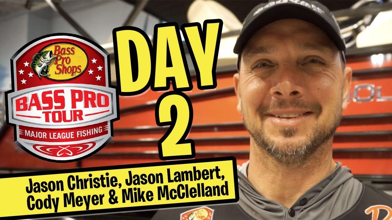 Major League Fishing Bass Pro Tour Stage 2 Lk Okeechobee - CHRISTIE, LAMBERT, MEYER & MCCLELLAND