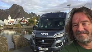 Bobilhøst fra Harstad til Lofoten