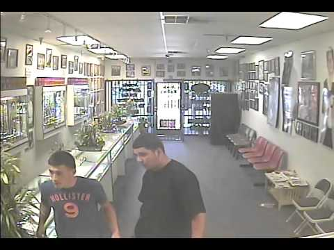 botched jewelry store robbery in fresno california caught