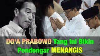 Do'a Prabowo Di Depan Purnawirawan Bikin Air Mata Menetes