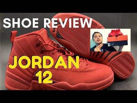 AIR JORDAN 12 RETRO GYM RED SHOE REVIEW 2020