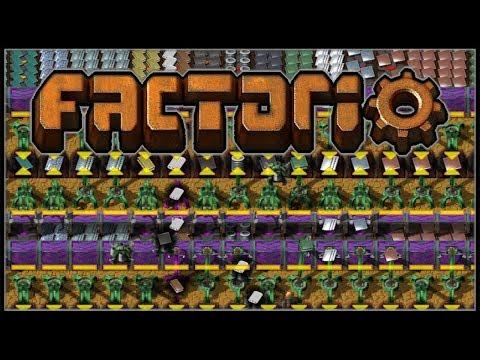Factorio Sea Block #38 - Purple and Green (0.15)