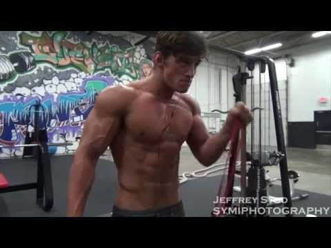 Bryant Wood Fitness Model Takes Us Through His Arm Workout Talks About Fitness Modeling