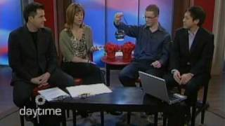 Team Audiobulb On Rogers Daytime Show Kitchener (march 22, 2010)
