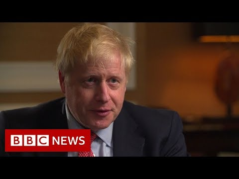 Race to become UK PM: Boris Johnson exclusive interview - BBC News