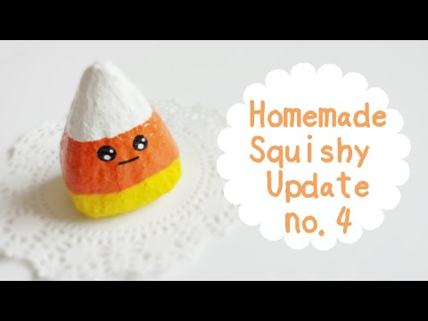 Homemade Squishy Update #4 - YouTube