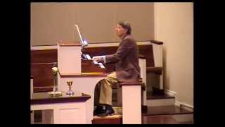 "Joe plays ""Concert Variations on the Austrian Hymn"" on the organ"