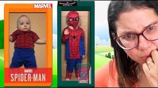 CADU E CAIO and New Spider man doll / BONECO GIGANTE DE VERDADE HD