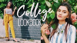 College Lookbook   Back To College Outfits   Shreeja Bagwe