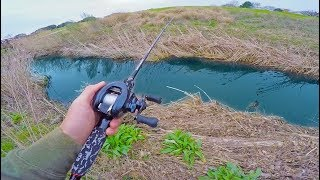 Fishing Mini Creeks in Urban Dallas (Fishing With Subscribers)
