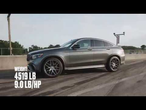 Mercedes-AMG GLC63 S Coupe at Lightning Lap 2018