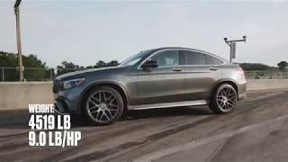 homepage tile video photo for Mercedes-AMG GLC63 S Coupe at Lightning Lap 2018
