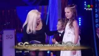 Amira Willighagen - Interview on Susana Giménez TV Show - Argentina - 20 August 2014