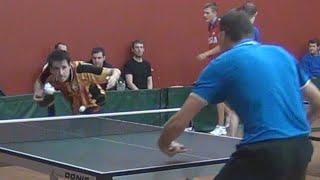 Алексей УЛАНОВ vs Илья ШАМИН, ФИНАЛ, Турнир Master Open, Настольный теннис, Table Tennis
