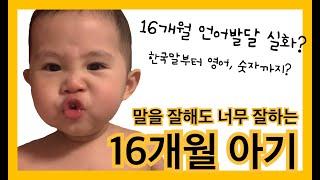 16개월 아기 언어발달…