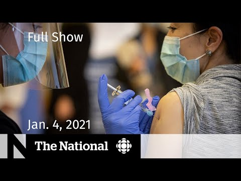 CBC News: The National   Canada's performance in COVID-19 vaccination race   Jan. 4, 2021