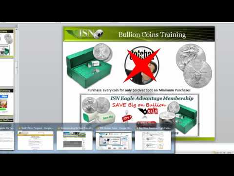 ISN Coins Bullion Training