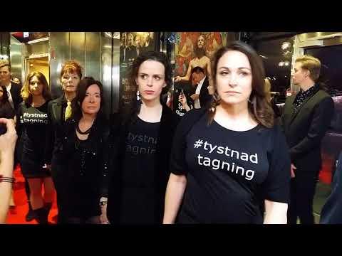 Tystnad tagning - The Guldbagge awards 2018
