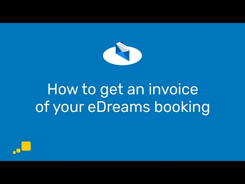 How to get an invoice of your eDreams booking   eDreams