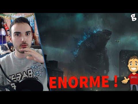 Il est ENORME ! REACTION à GODZILLA 2 Roi des monstres (2e trailer)