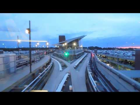 🚇/💺 Hartsfield-Jackson International Airport ✈ (ATL SkyTrain) -- FULL RIDE!