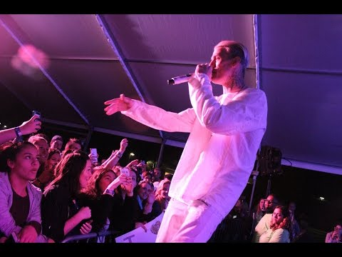 Relay for Life - Aaron Carter Performs at DeSales University