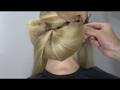 Arabic style, wedding, bridal hairstyle by Farrukh Shamuratov