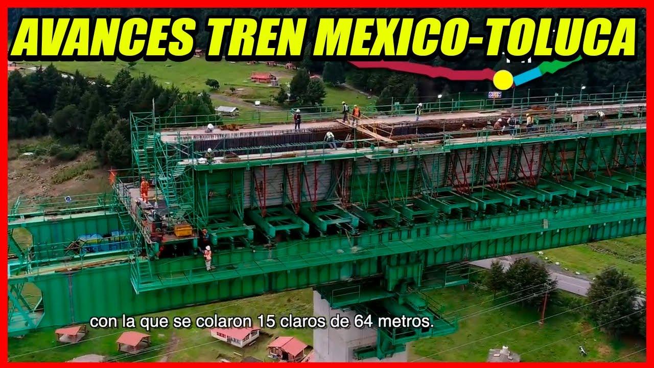 Trabajos en viaductos 2 y 4 Tren Interurbano México Toluca