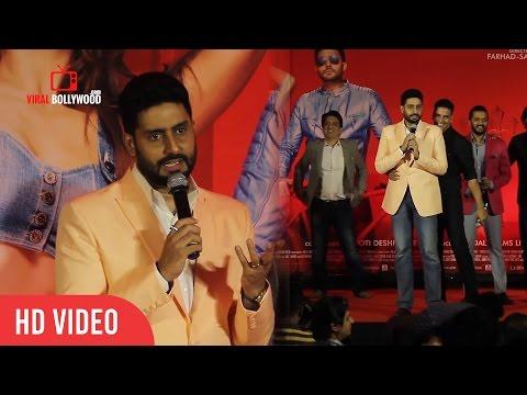 Junior Bachchan Trolling Media Reporter | Very Funny Abhishek Bachchan