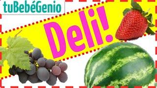 Las Frutas Para Niños En Español Nombre de Todas Las Fruta...