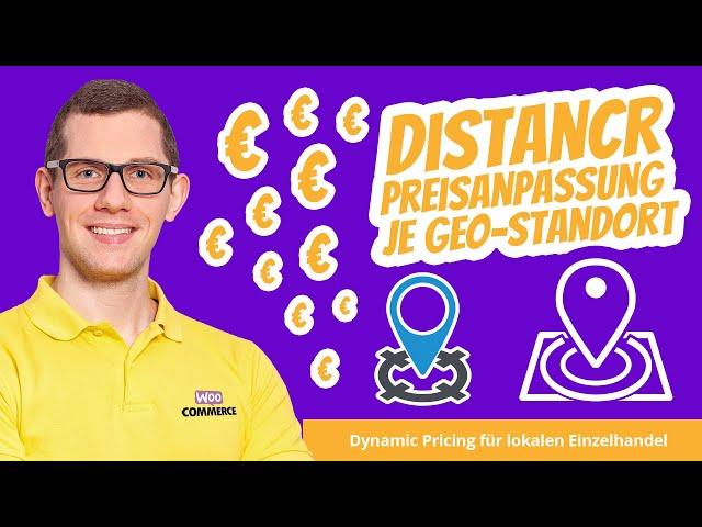 Distancr Plugin 🚀  GEO-Preisanpassung nach Standort für Einzelhandel & Standorte | Dynamic Pricing