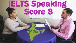 IELTS Speaking Score 8 - India