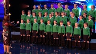 St. Patrick's Junior Choir Shows off Their Voices and Touch Everyone | Week 3 | Britain's Got Talent