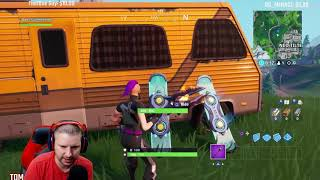 fortnite Get trick points with a vehicle (500,000) in a single match made easy and location