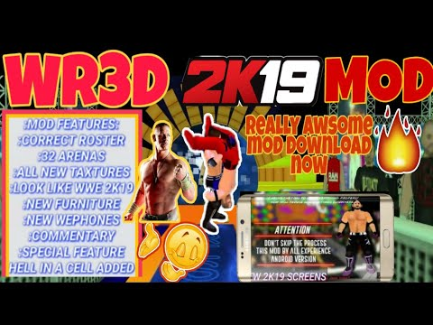Download How To Download Wr3d 2k 18 Mod Only 105 Mb In