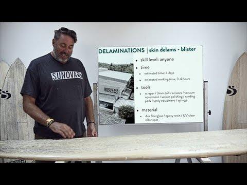 Sunova Repair Guide | Delamination Repair - The Professional Version
