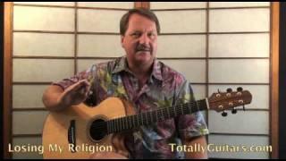 R.E.M. - Losing My Religion Guitar lesson