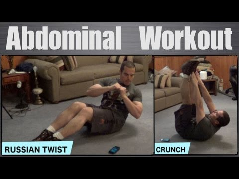 5 Minute Home Ab Workout
