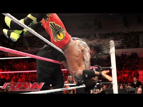 Roman Reigns vs. Kofi Kingston: Raw, October 26, 2015