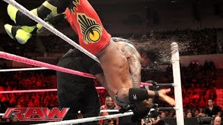Roman Reigns vs. Kofi Kingston: Raw, October 26, 2015