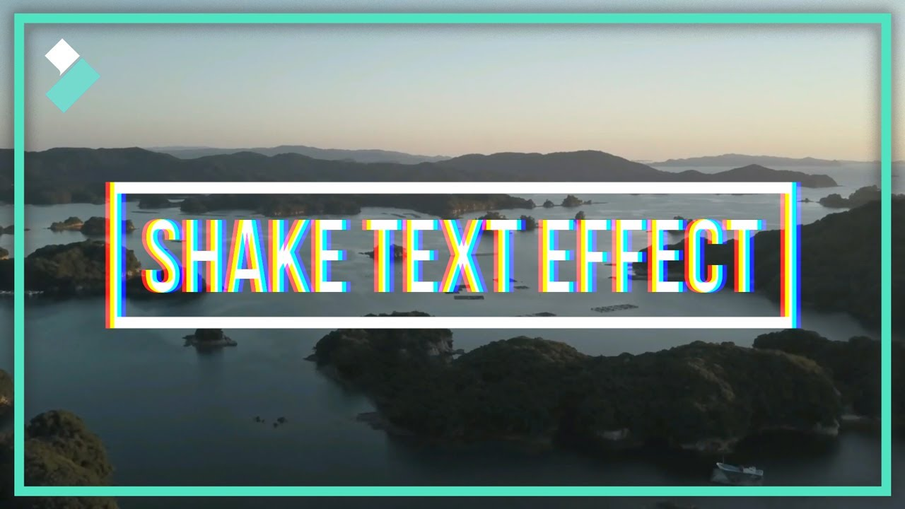 Text Shake Effect with Filmora9 | Two Minute Tip