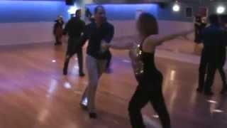 Hustle: Mike Topel & Terri Calhoun, AustinCityDanceClub.Com
