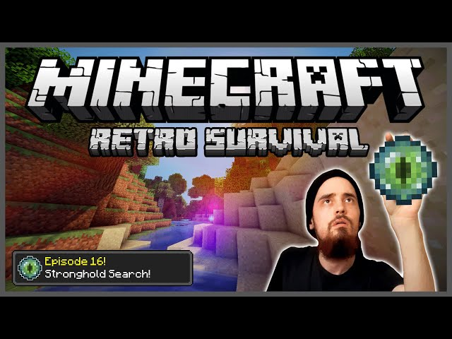 Minecraft: Retro Survival Let's Play [16] - Stronghold Search!