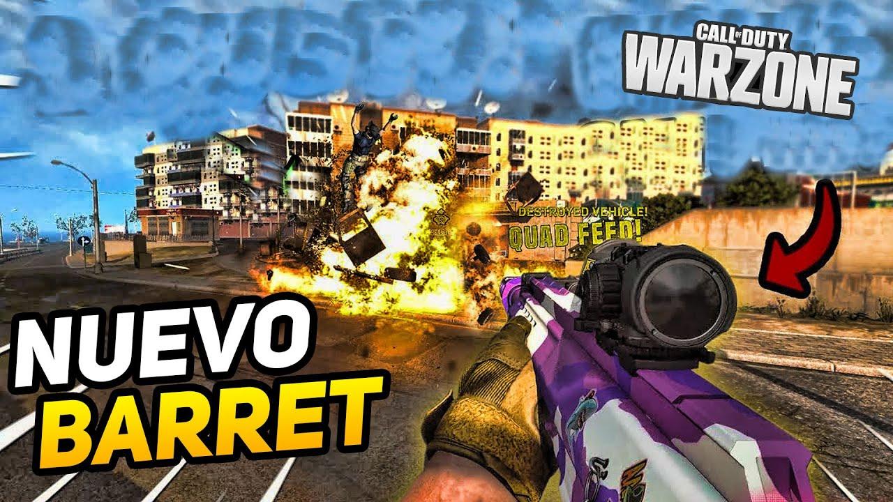 Así es la NUEVA BARRET (RYTEC AMR) MEJOR CLASE y ACCESORIOS para Warzone y Modern Warfare