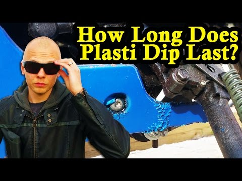 How long does plasti dip last on car emblems
