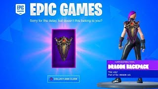 FORTNITE GIFT THIS EXCLUSIVE MOCHILA IF YOU VOTE IN THE STORE! (FREE ITEMS SEASON 10)