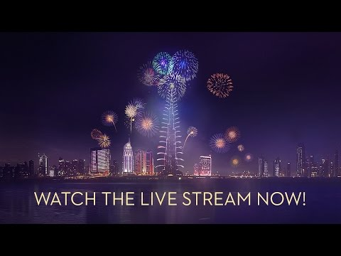 Downtown Dubai New Year's Eve 2015 mobile